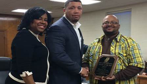Four-County Community Services, Inc. 2014 Teacher of the Year by the Region IV Head Start Association, Inc. (RIVHSA)