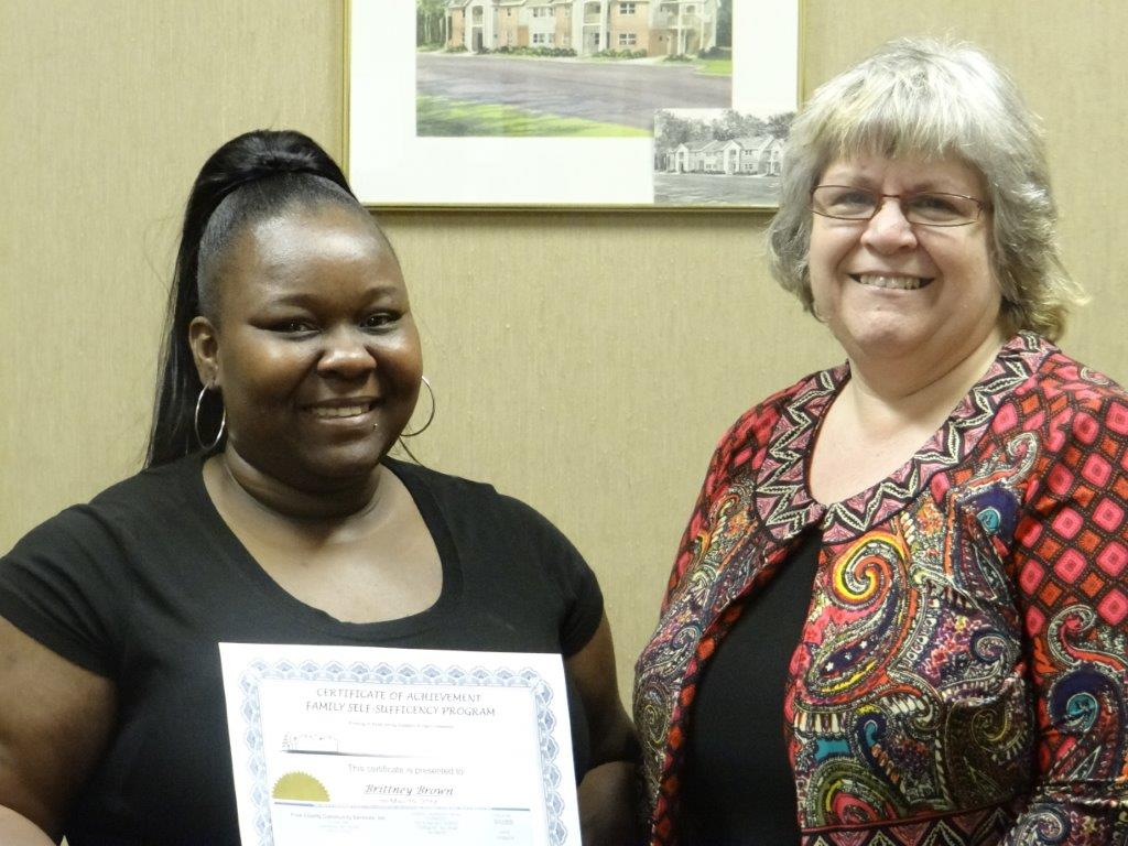SCFS Presents 16650 Check To First Time Homebuyer